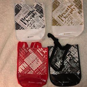lululemon reusable bags!